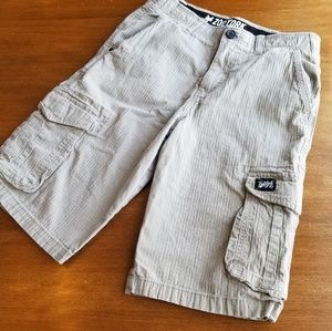 Zoo York Unbreakable boys khaki cargo shorts